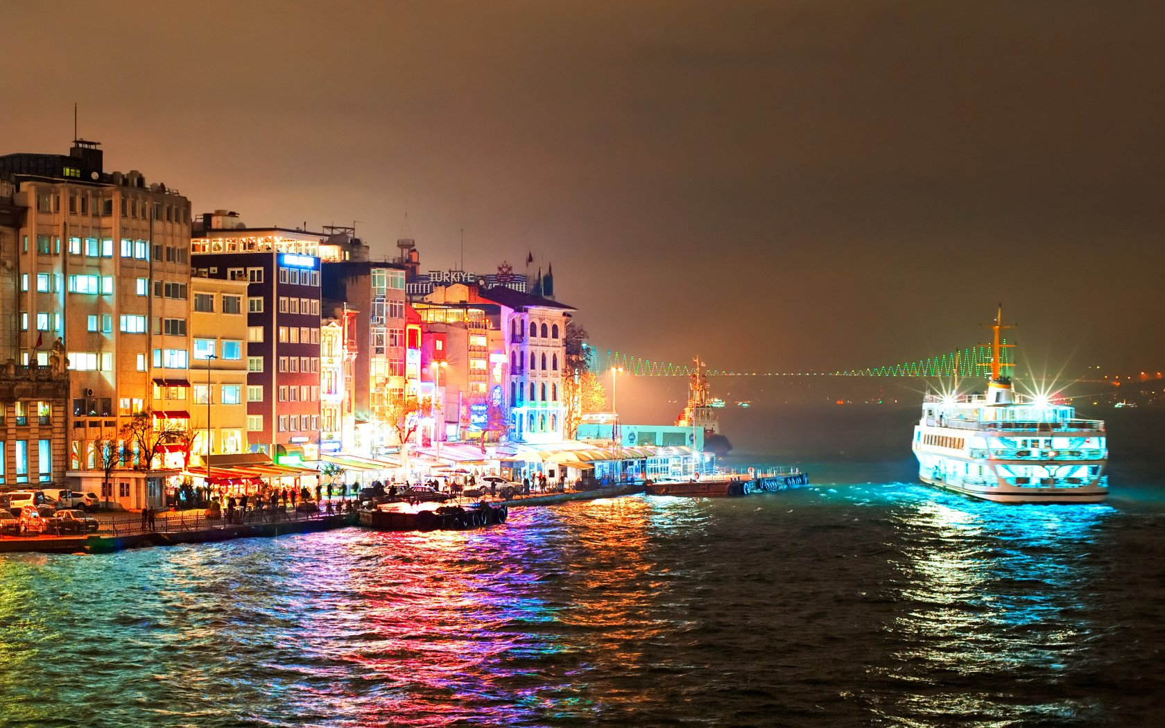 Istanbul at night