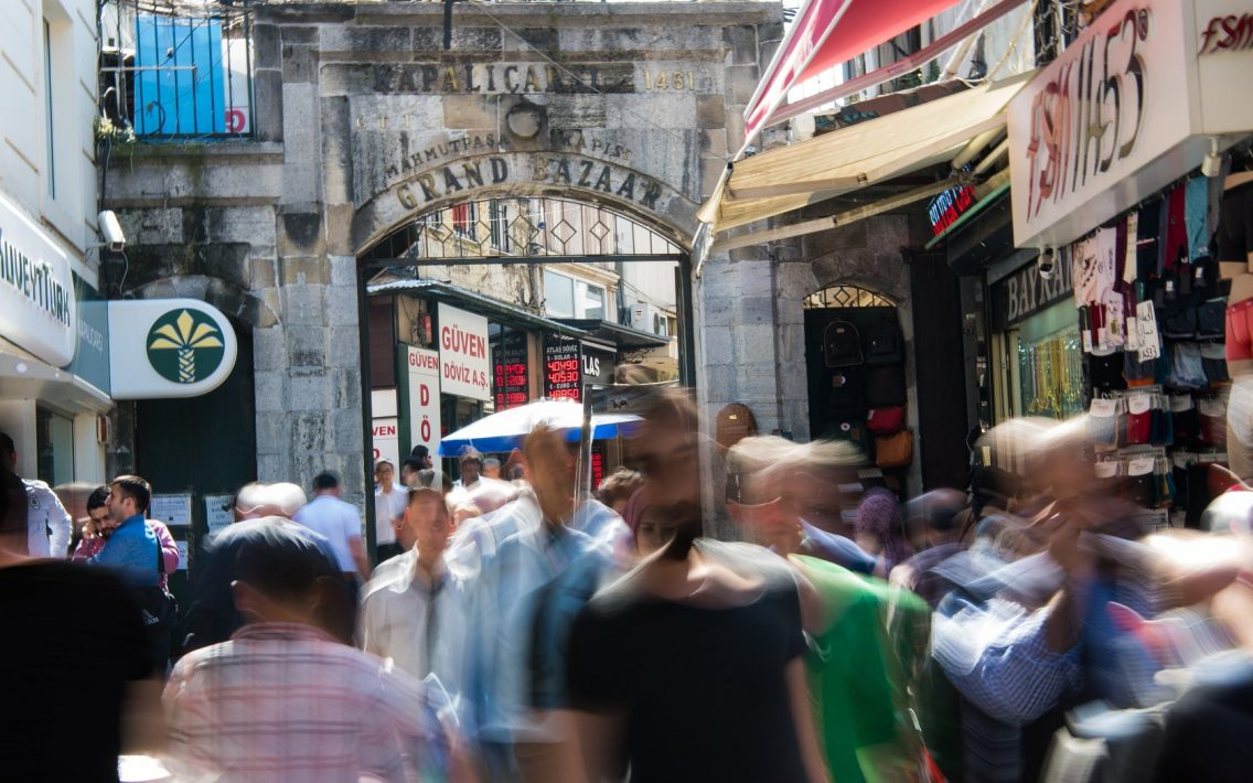 Entrance to the Grand Bazaar in Istanbul