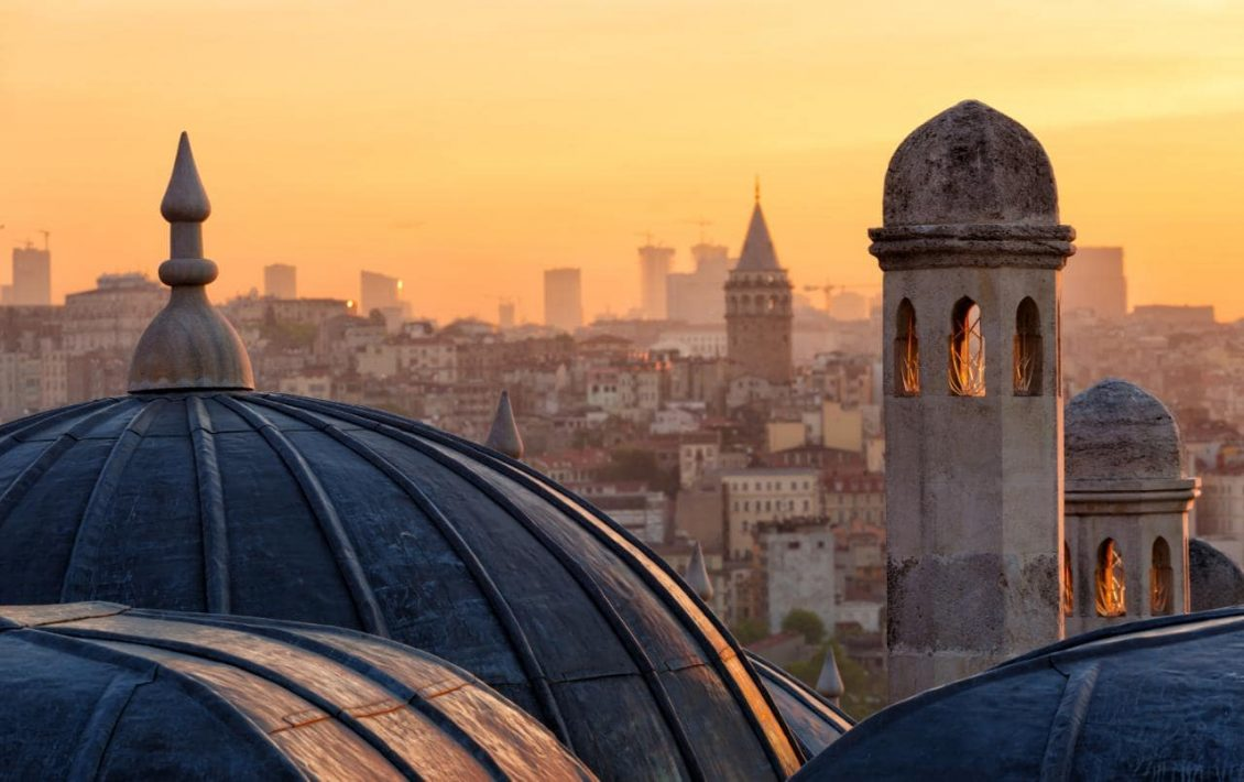 Rooftop in Istanbul